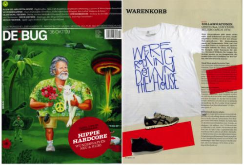 De bug magazine german dance music techno house Tom Mangan