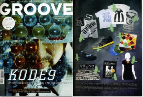 Groove magazine dance music german techno Tom Mangan T-shirts