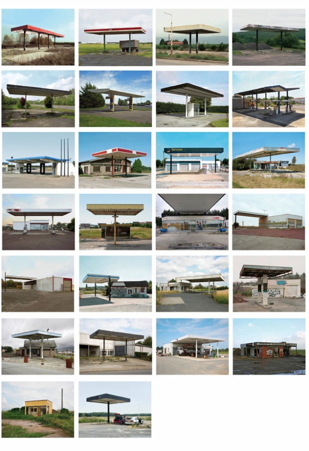 Twenty Six abandoned Gasoline stations by Eric Tabuchi