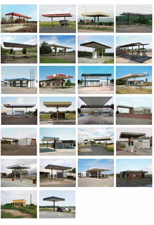 Twenty Six abandoned Gasoline stations by Eric Tabuchi