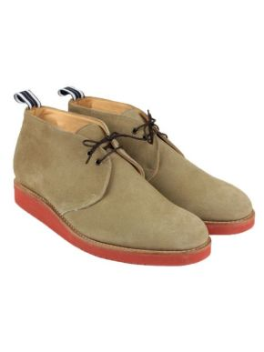 Oliver Spencer Chukka suede boots lace up T-shirts Millionhands