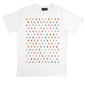 Joe Goddard Hot Chip Raindrops Gabriel T-shirt 2 Bears DFA